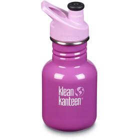 Klean Kanteen Classic Bottle 355ml with Sport Cap 3.0 Kids bubble gum